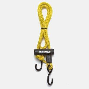 SlideDown Tiedown Original Yellow Rope